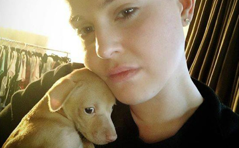 Kelly Osbourne Rescues This Adorable Puppy And Melts Our Hearts With Every Update